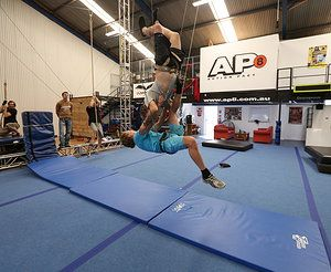 Level 1 stunt rigging Feb 2014