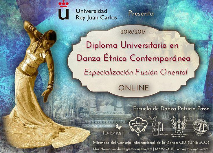 Presentamos el nuevo DIPLOMA UNIVERSITARIO en DANZA ORIENTAL On-Line.➡ http://bit.ly/1Rm1HoQ