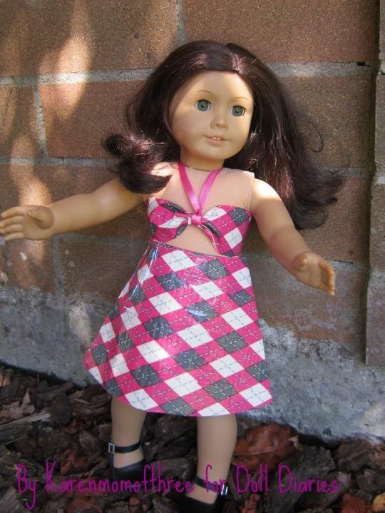 DIY Doll Play Day 78 Make a Super Simple Summer Top for Dolls DIY Dollhouse DIY Toys DIY Crafts