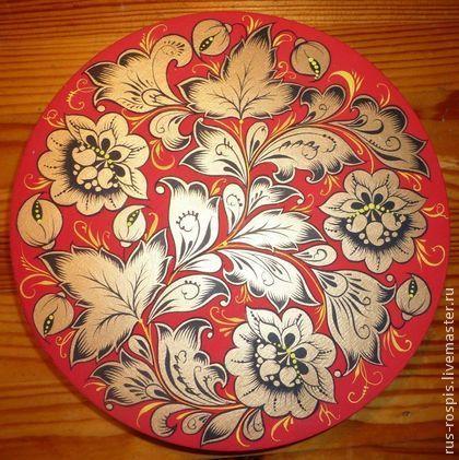 Сувениры ручной работы. Ярмарка Мастеров - ручная работа Шкатулка деревянная расписная. Handmade.