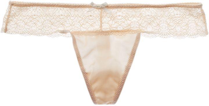 underella by Ella Moss Women's Sydney Lace Thong
