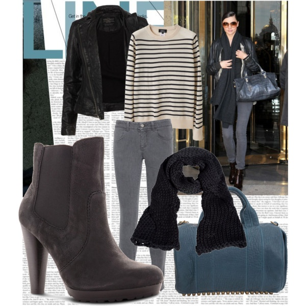 Black Chinese Laundry Flicker Rush Boots featuring Miranda Kerr #chineselaundry #shoes #mirandakerr #allsaints #alexanderwang #rocco #awang #stellamccartney