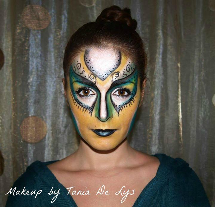 Abstract makeup