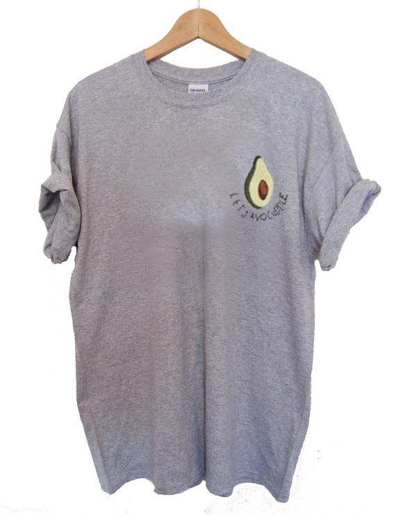 let's avocuddle avocado T Shirt Size XS,S,M,L,XL,2XL,3XL