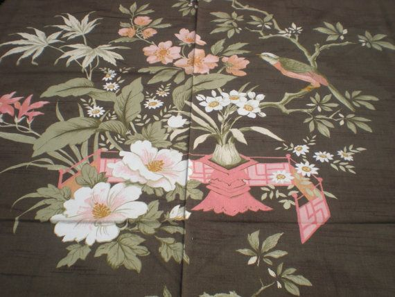Greeff Vintage Drapery Fabric 'From Ancient Shores' by Majilly