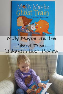 Molly Maybe and the ghost train sharing our thoughts on this wonderful childrens…