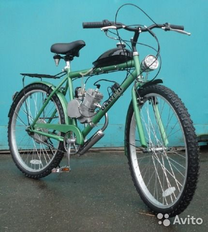 22700 руб Дорожный велосипед Dakar Z6 (c мотором) со склада