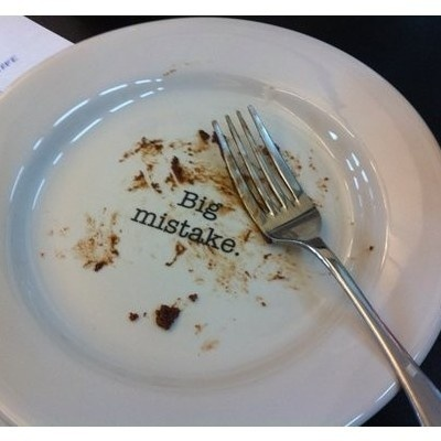 Snarky PlatesDesserts Plates, Too Funny, Mr. Big, So Funny, Weightloss, Weights Loss, Cake Plates, Deserts, Big Mistakes