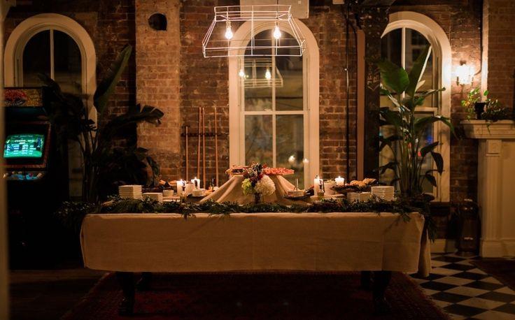 brick and burlap - elle cuisine events at Apartment 200