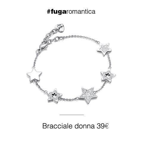 Bracciale in acciaio con resina, madreperla e cristalli bianchi Luca Barra Gioielli. #jewels #fashionstyle #orecchinidonna #newcollection #lucabarra