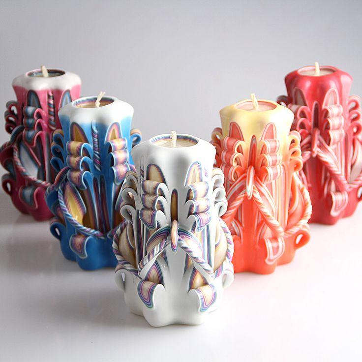 Handgesneden Kaarsen is echt kunst!