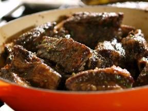 Oven-Baked Short Ribs with Porter Beer Mop | Recipe