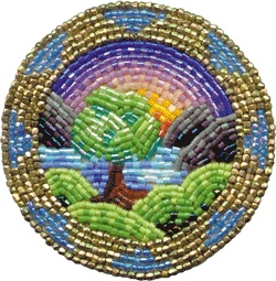 Tree Pin pattern for surface beading $5