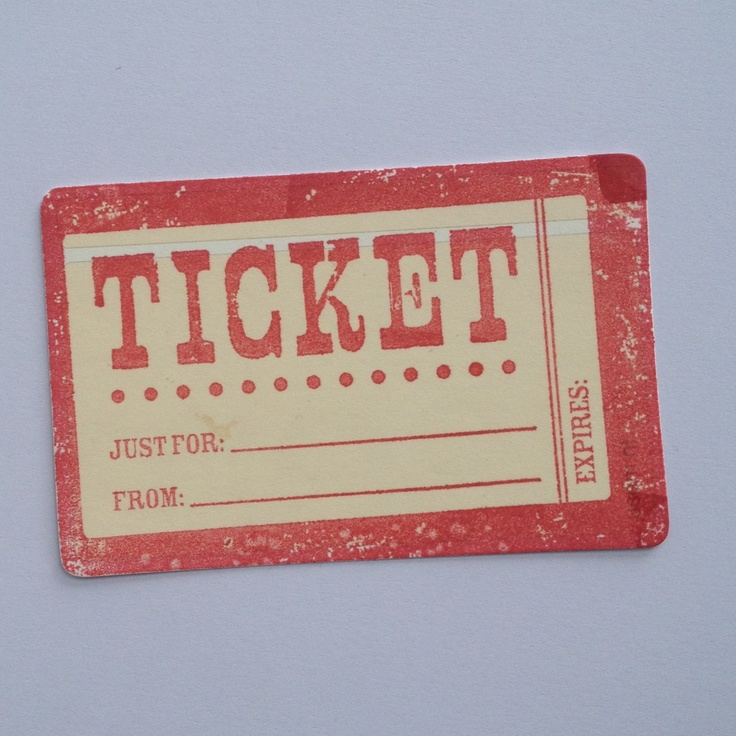 23 best Used Ticket Ideas images on Pinterest Concert tickets - how to make a concert ticket