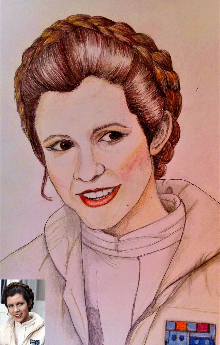 Princess Leia; February 2017