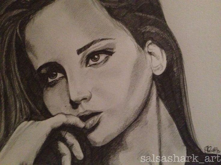 Jennifer Lawrence sketch