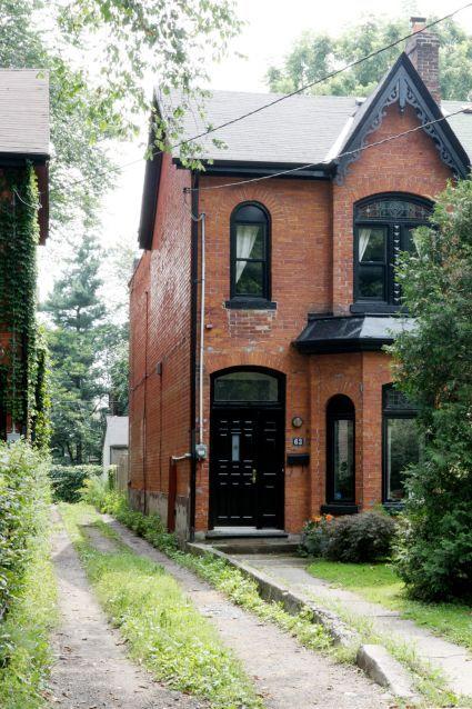 Image result for exterior home ideas dark windows