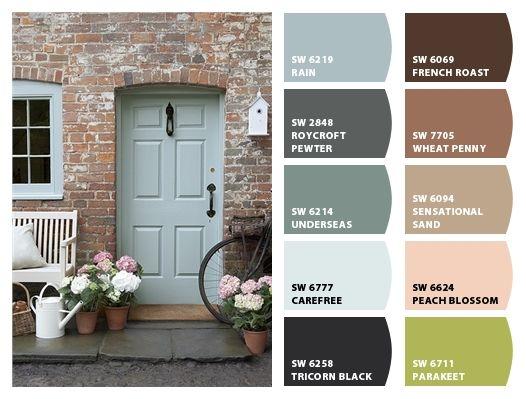 900 Best Exterior House Paint Color Palettes Images On Pinterest | Colors, Exterior  House Paints And Exterior House Colors