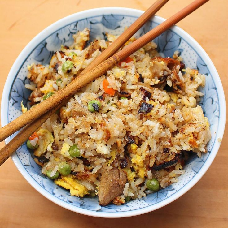 Chinese Duck Fried Rice | Recipe is best with left over white rice!