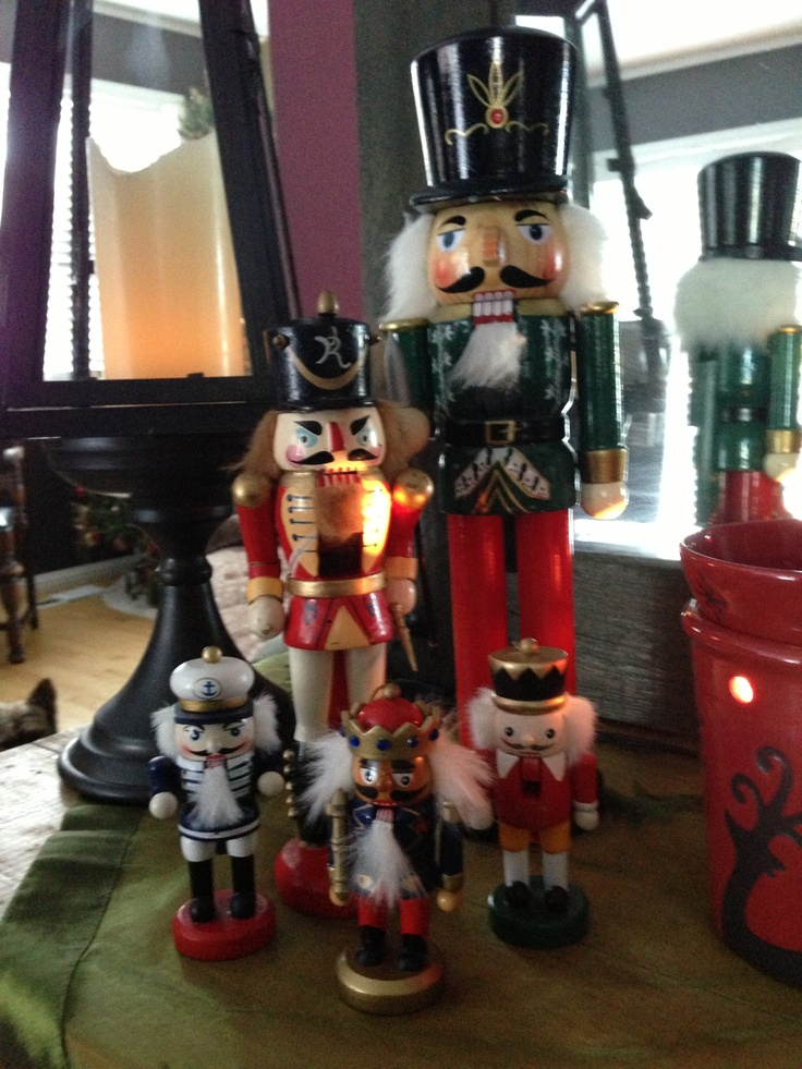 Did I mention I love Nutcrackers!