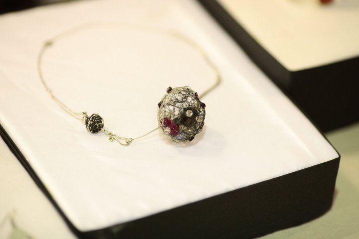Liana Salagean, Romanian Jewelry Designer.