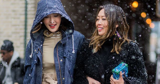 How your favourite bloggers stay stylish in the cold weather, with outfit ideas from Leandra Medine, Aimee Song and more…