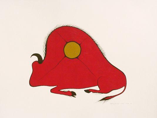 Buffalo by Benjamin Chee Chee