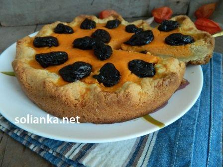 Пошаговый рецепт с фото, как приготовить тыквенный пирог с черносливом и тыквенной начинкой, чтобы удивить своих близких.