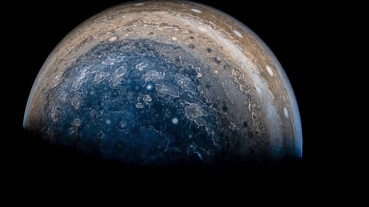 View of Jupiter from NASA's Juno spacecraft