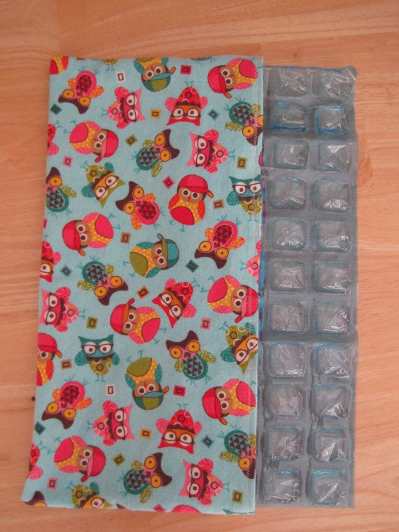Car Seat Cooler Pack Owls by bumblebeebrand on Etsy