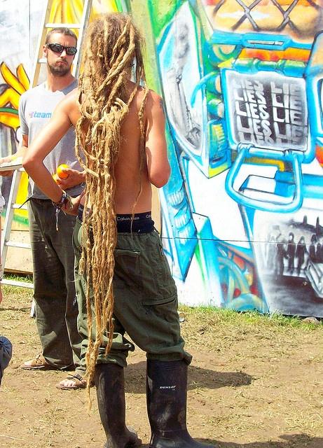 crazy long dreads #dreadstop
