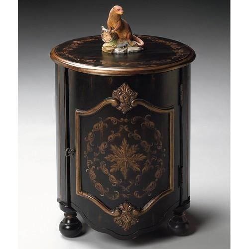 Drum Table   European Black   4001177. Drum Table   European Black    4001177 Unique