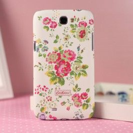 The Cath Kidston Samsung Galaxy Note 2 case is designed by British designer Cath Kidston,combining the Folarl,strips and many other pattern with the phone case!