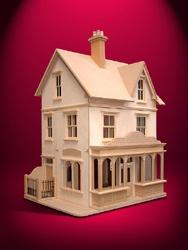 Dolls House Shops, Large Shops, Empire Stores Kit, Sid Cooke Dolls Houses Ltd