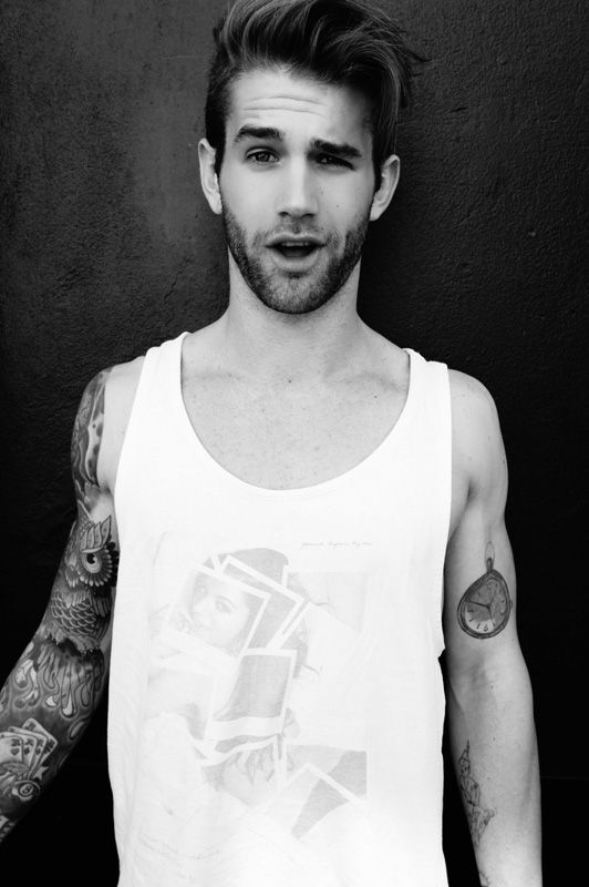 André Hamann<3 guys with tattos are so sexxxxy!
