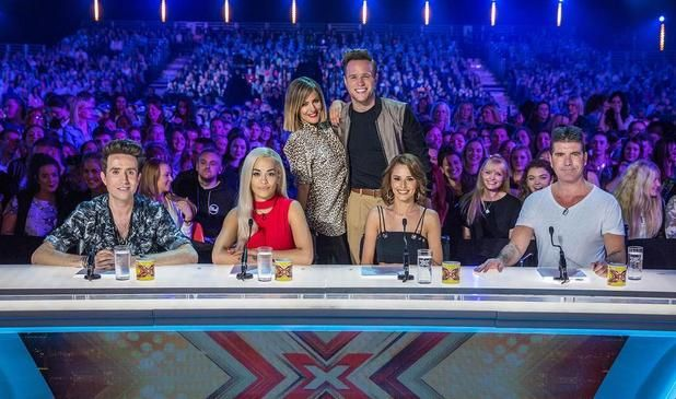 The X-Factor 2015 panel