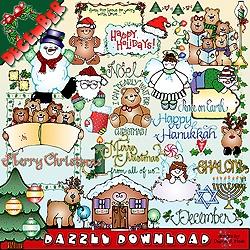 DJ inkers December dazzle