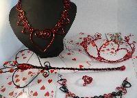 Queen of hearts set