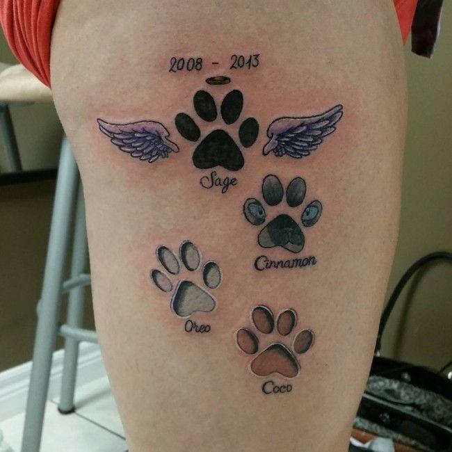 Pin by Sheilah Brown on Tattoos | Tattoos, Dog memorial ...