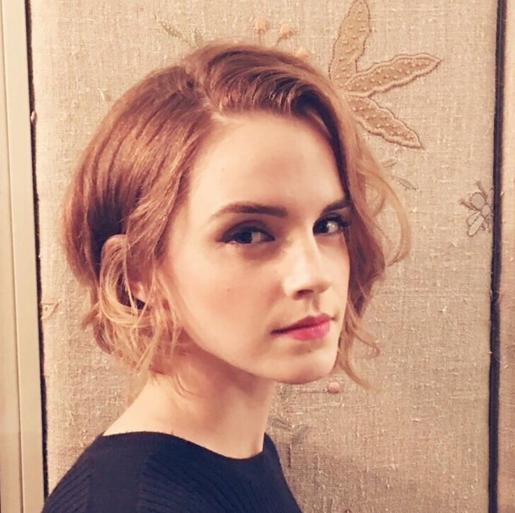 Emma Watson's New Haircut Will Make You Want to Chop It All Off via Brit + Co