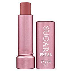 Fresh - Sugar Lip Treatment SPF 15 - Sugar Petal Tinted - sheer petal pink in mauve case #sephora