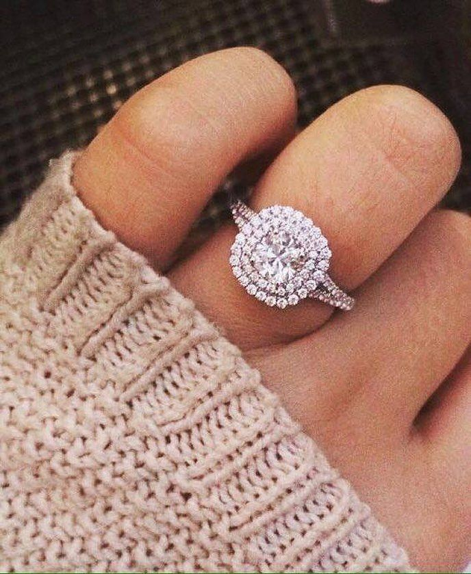 The Fomo Is Real But There S Still Time To Cozy Up With The Best Financing Offer Of Cushion Halo Engagement Ring Wedding Ring Cushion Wedding Rings Engagement
