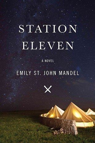 Station Eleven.  Emily St. John Mandel's time-hopping tale of a worldwide epidemic, post-apocalyptic Shakespearian thespians, the problematic nature of fame, and the importance of art, love, and companionship when it comes to survival is an incredible feat of a novel. Station Eleven deftly brings numerous character threads together to create a tapestry of storytelling that is a wonder to behold.