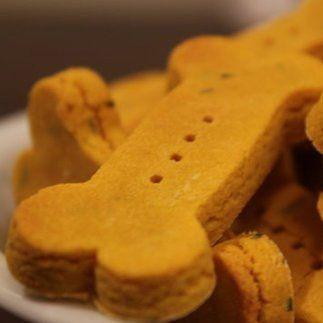 Wheat-Free Pumpkin Dog Biscuit Recipe | POPSUGAR Pets