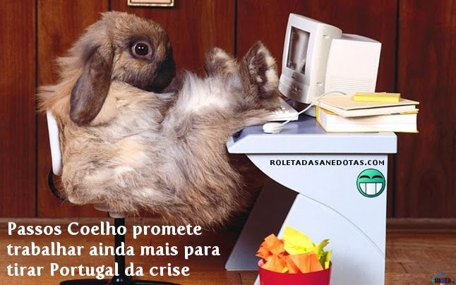 Passos Coelho promete trabalhar ainda mais para tirar Portugal da crise
