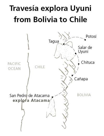 Travessia explora Uyuni from Bolivia to Chile