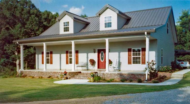 Wonderful Steel Frame Cottage House (15 HQ Pictures & Plans) | Metal Building Homes