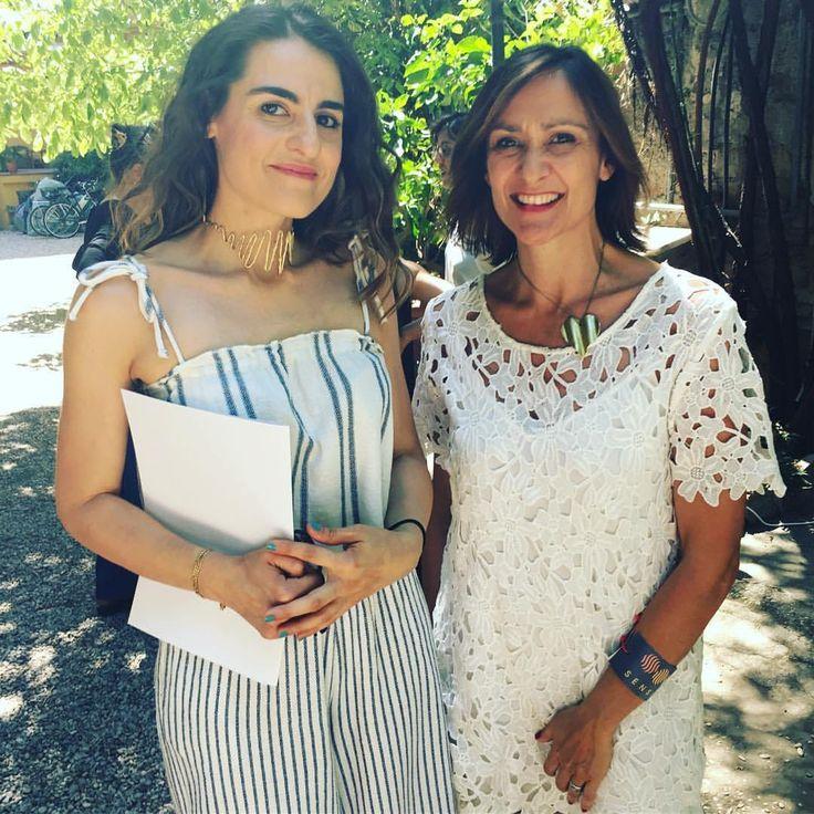 Con Valentina Allotti, indosso Il suono dell'Universo