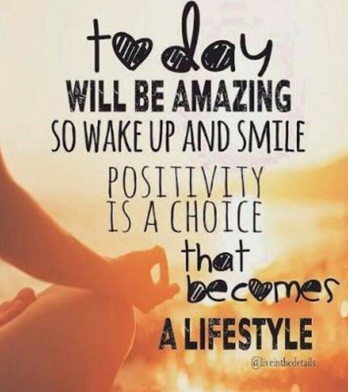 Positive thoughts can focus on the brighter side of our life. Happiness and success can easily overcome all the obstacles and difficulties that come on our way...  Keep on being positive person.  Have a great day!