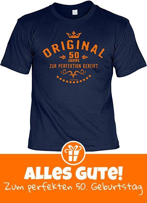 Geburtstagsgeschenk Geschenk zum Geburtstag T-Shirt Original 50 Jahre Geschenkidee für das Geburstagskind Shirt Leiberl Leiberl - Geschenkideen für Männer und Freund (*Partner-Link)